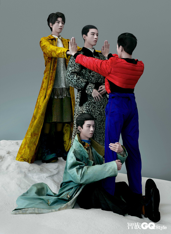 推翻!王俊凯雕塑封面大片释出 寸头造型惊艳别致 第7张