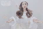 10月10日,Angelababy登封《時尚芭莎》11月刊封面大片發布。Baby化身穿越荊棘的玫瑰精靈,解鎖多套夢幻造型。一襲白色鏤空紗裙,栗色蓬松長卷發,搭配精美花朵配飾,傷痕妝盡顯易碎感,鋒利與柔美交織。
