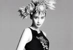10月13日,Angelababy拍摄的《MadameFigaro世界》十月刊封面大片曝光,这是Baby第七次成为《MadameFigaro世界》的封面人物。各色花朵贯穿全片,Baby戴着繁花面具,弥漫着华丽而神秘的气息,展露色彩浓郁高级时尚感。