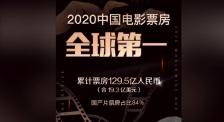 中国首次成为全球第一大票仓 2020年度电影票房前三甲出炉