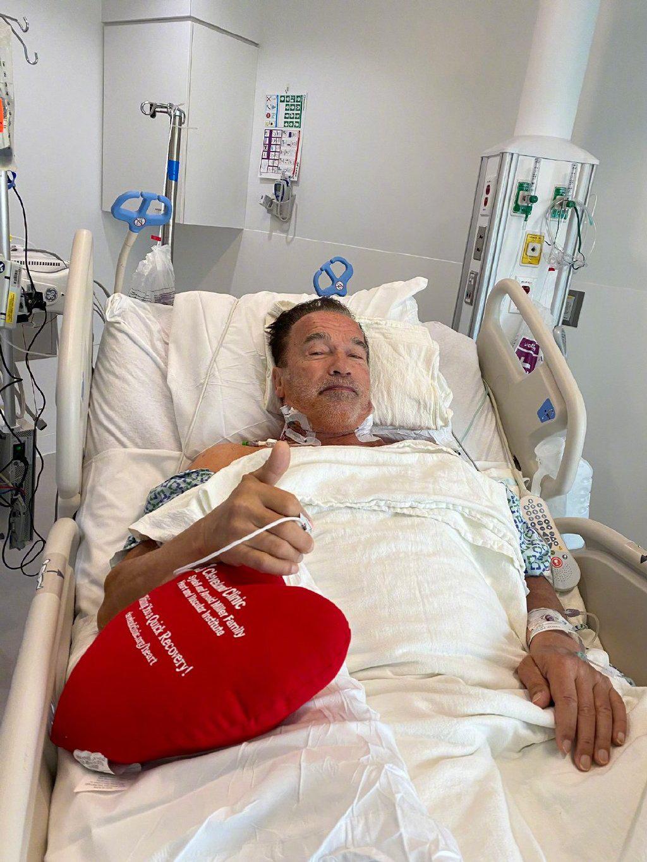 73岁阿诺·施瓦辛格再次接受心脏手术:感受棒极了