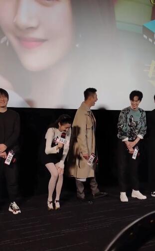 《月半爱丽丝》首映 关晓彤遇土味情话惊慌不已 第2张