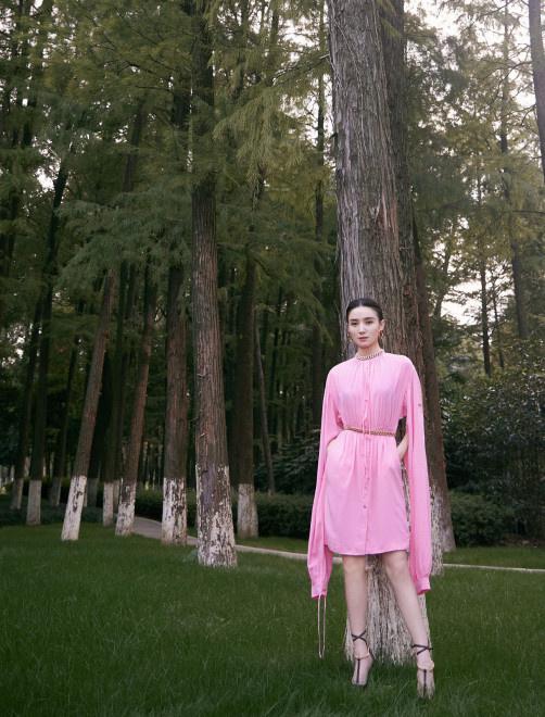 宋佳亮相华语青年电影周开幕 穿粉裙秀白皙玉腿 第2张