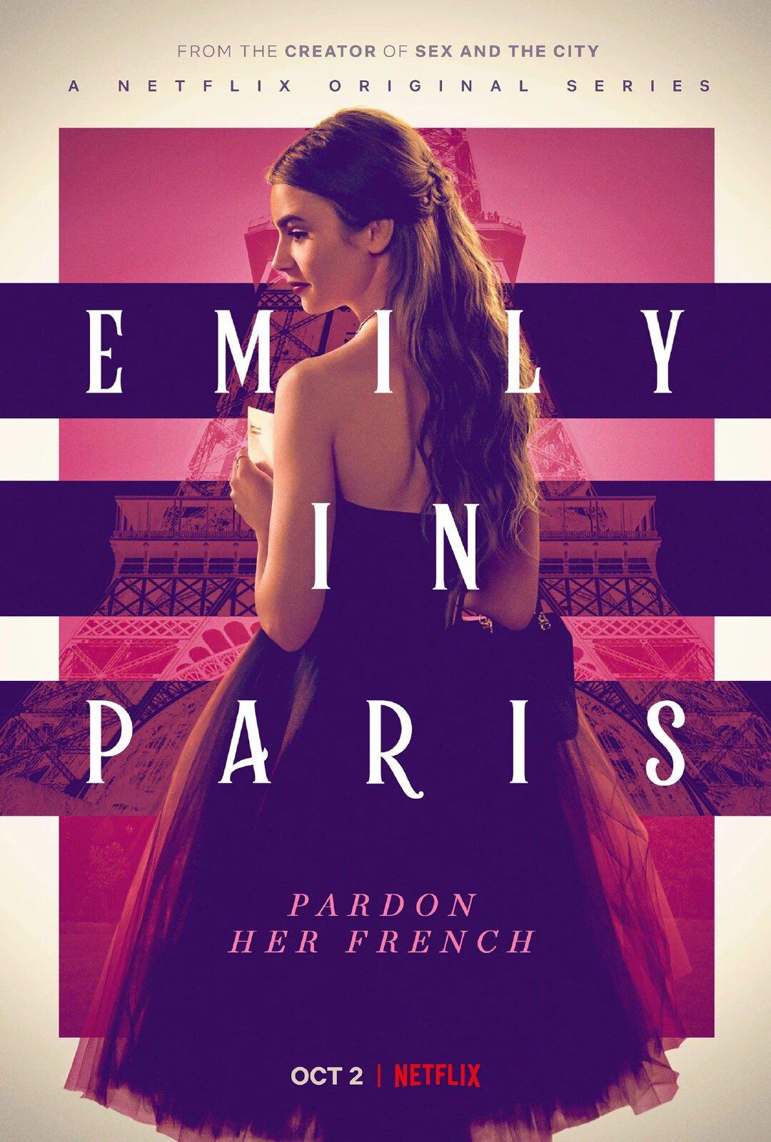 《艾米丽在巴黎》续订第2季 莉莉·柯林斯情绪成谜