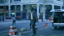 警匪電影《除暴》街頭火拼片段