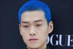 魏大勋蓝色寸头引热议 网友:他染了她喜欢的发色