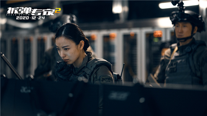 《拆弹专家2》曝默契特辑 倪妮大哭刘德华安慰