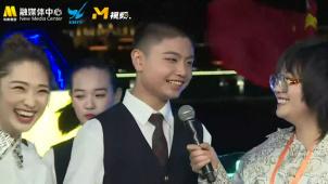 你快乐吗?金鸡奖直播李雪琴采访合唱队男孩