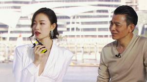 刘德华携手倪妮演情侣 倪妮与偶像合作担心放不开