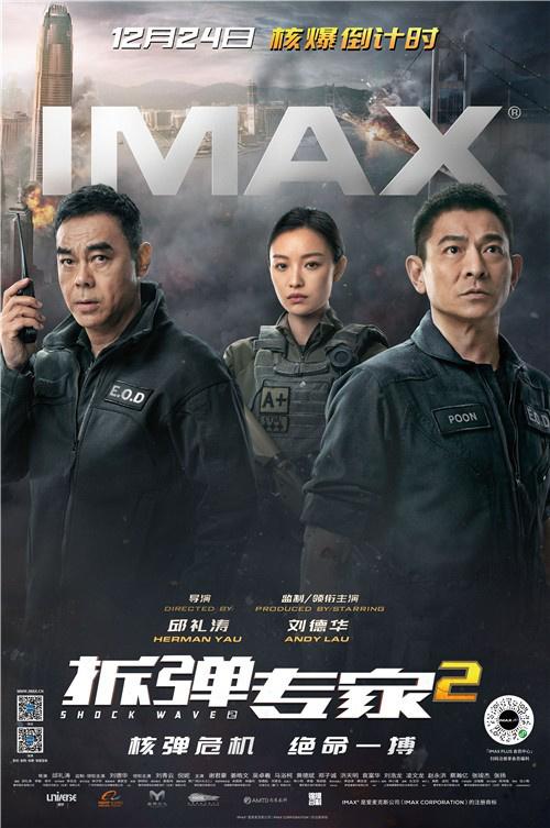 《拆弹专家2》曝光IMAX海报刘德华妮妮准备走了