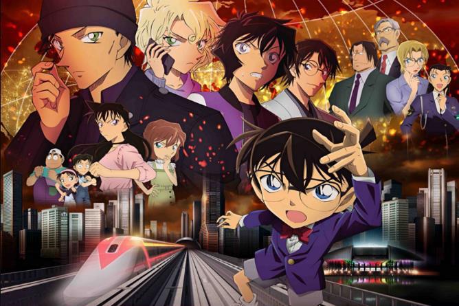 剧场版《名侦探柯南》重新定档 明年4.16日本上映