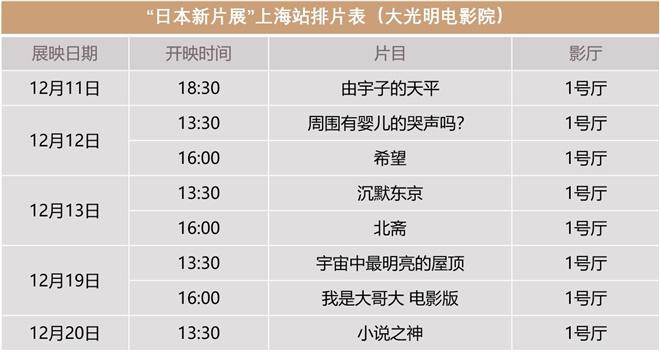 "usdt充值(caibao.it):上影节""日本新片展""上海站将于12.4线上开票 第2张"