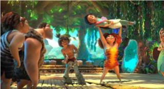 作品之外,《瘋狂原始人2》對人類文明的隱喻表現