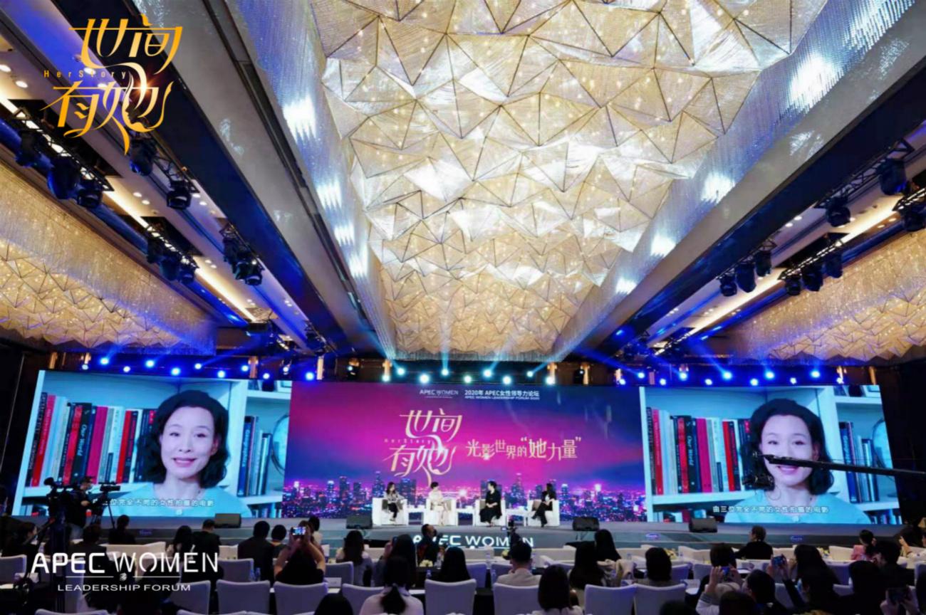 电银付免费激活码(dianyinzhifu.com):《世间有她》亮相APEC女性论坛 李少红许娣出席