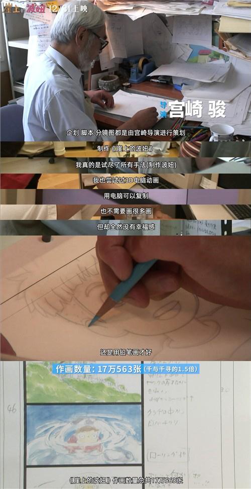 """电银付(dianyinzhifu.com):""""一起加油""""!《崖上的波妞》宫崎骏手写信曝光 第3张"""