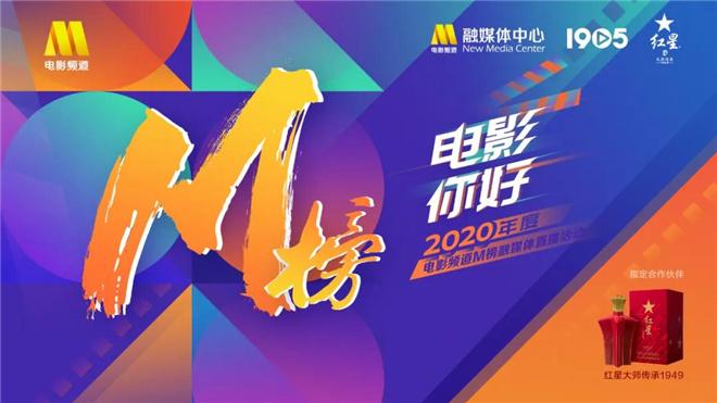 中国电影有你真好!2020电影频道M榜直播温暖收官