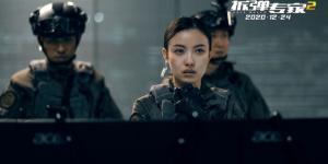 《拆彈專家2》花絮曝光 倪妮首次飾演警察爬天梯