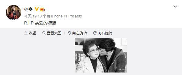 usdt回收(www.caibao.it):李香琴在家中去世 林峯汪明荃公布旧照片悼念