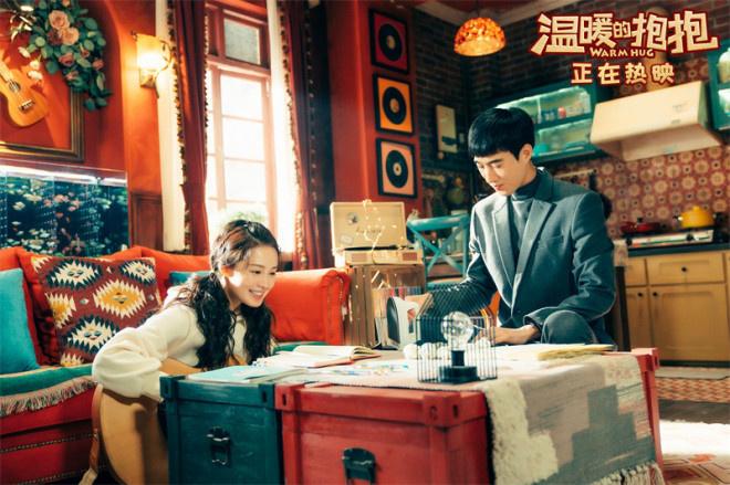 《温暖的抱抱》发布宣传秦写了一首歌 当面声讨