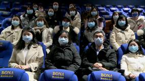 医疗队队员参与《武汉日夜》肖战公益观影专场