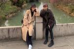 45歲馬伊琍與閨蜜劉孜素顏出游 兩人超模腿搶鏡