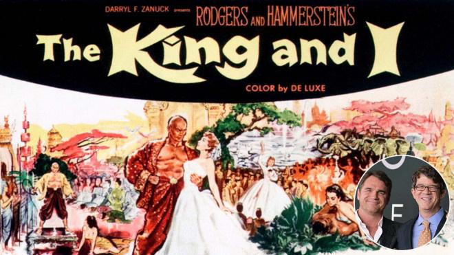 派拉蒙有望翻拍《国王与我》 改编自同名音乐剧