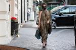 Lady GaGa豹纹裙半露玉臂 投入新片《古驰》拍摄