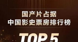 骄傲!《唐探3》超《复联4》 票房前五均中国电影