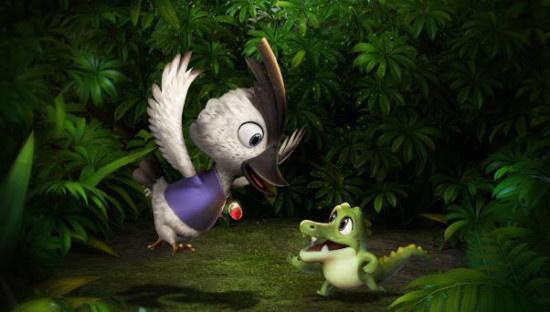 动画电影《疯狂丑小鸭2靠谱英雄》定档2021上映