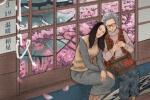 电影《又见奈良》发手绘海报 祖孙相依温馨感人