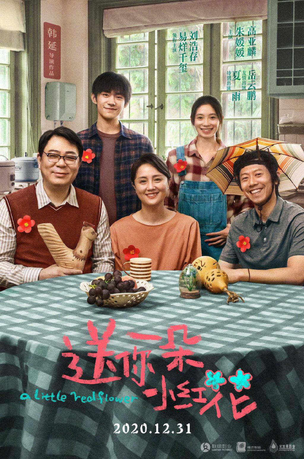 易烊千玺刘浩存主演《送你一朵小红花》3.5上线