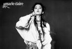 3月10日,刘亦菲合作《嘉人Marie Claire》四月刊封面内页大片公开。刘亦菲身穿皮裙搭鱼骨辫,彩色挑染鱼骨辫,酷飒十足演绎反转魅力,身穿风衣,颇有气质。