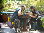 安娜·德·阿玛斯新恋情?与神秘男遛狗形似前男友