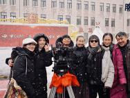 曹郁姚晨夫妇联手担任监制 电影《脐带》雪中开机