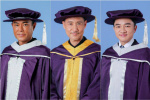 张学友古天乐王祖蓝获颁香港演艺学院荣誉称号