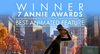 无悬念!美国动画安妮奖颁布 《心灵奇旅》成赢家
