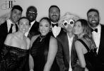 当地时间4月19日,美国洛杉矶,贾斯汀·比伯、海莉·鲍德温夫妇现身街头,出席音乐家Harv的婚礼。当天,比伯身穿一身复古蓝色丝绸西服套装,搭配米白色刺绣礼帽帅气亮眼;海莉则穿着黑色小礼服勾勒完美身材。俊男美女走姿夜幕下的街头很是养眼!  