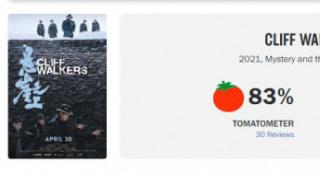 张艺谋《悬崖之上》海外口碑出炉 烂番茄指数83%