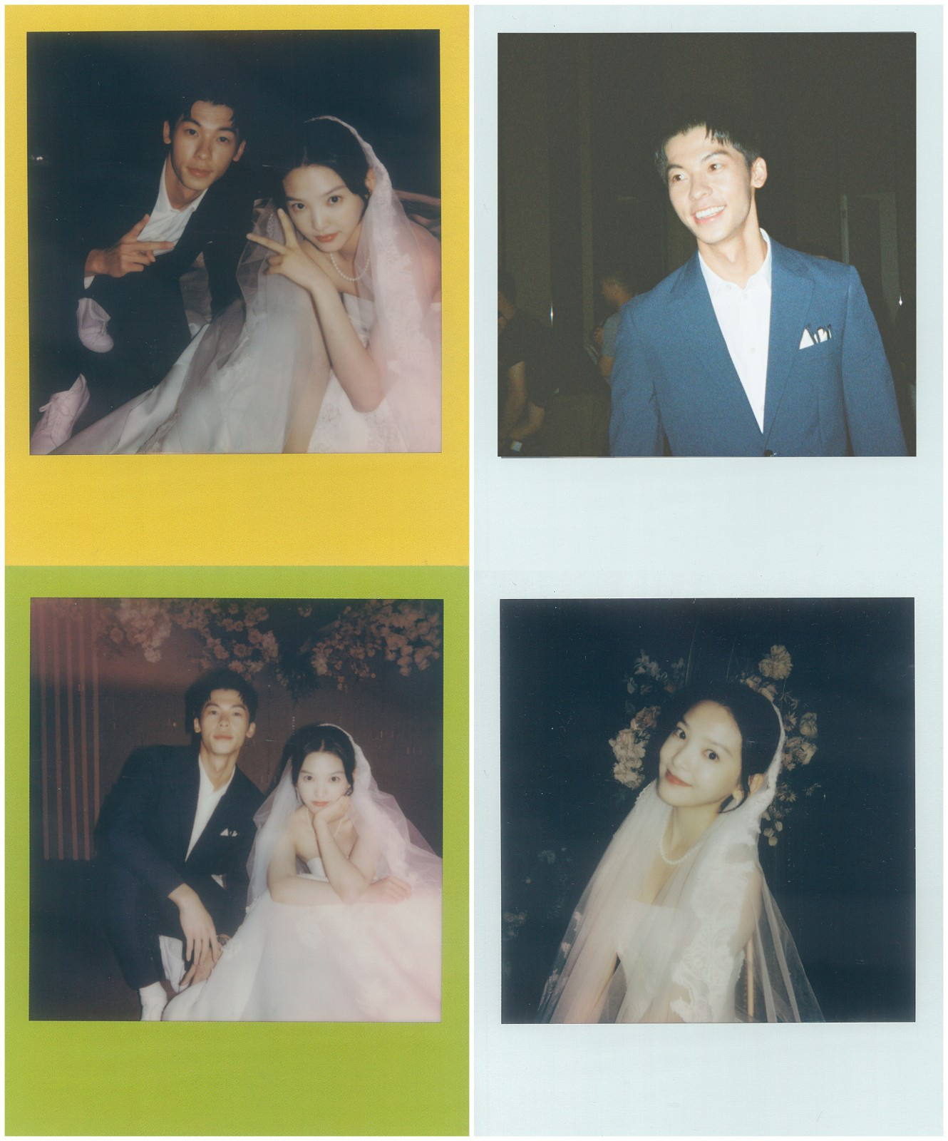 《你的婚礼》拍立得花絮照 许光汉章若楠甜度爆表