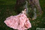 """日前,赵丽颖登封《费加罗MadameFigaro》5月刊""""铠甲亦温柔""""封面大片发布。赵丽颖一身红装,执黑红佩剑立于风雪之中,坚定洒脱;盘虬错节的老树根下,赵丽颖如一朵绮丽的花静谧绽放;赤凤盘飞中她泰然静卧,充满高贵神秘的气息。这套大片质量好高,故事感十足。  """