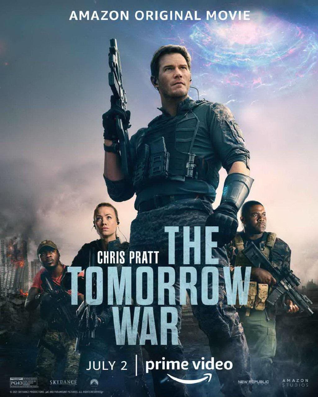 《明日之战》曝正式预告 星爵穿越时间大战外星人