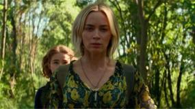 好莱坞惊悚片《寂静之地2》上映 无声姐弟回归上演成长记