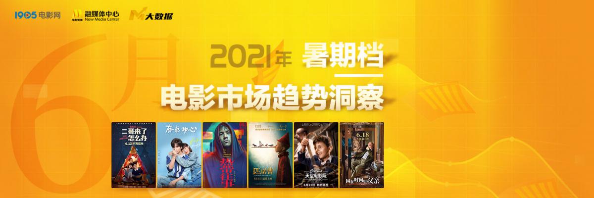 2021年暑期档电影市场趋势洞察——6月篇