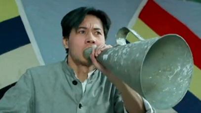 """曾饰演五四运动学生领袖 佟瑞欣讲述拯救中国的""""红船精神"""""""