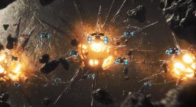 巨型太空怪物状如病毒,用灼热光线攻击,太空卫队打它都绝望!