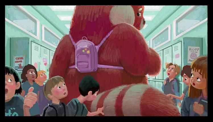 《包寶寶》導演新片曝概念圖 少女興奮變粉紅熊貓