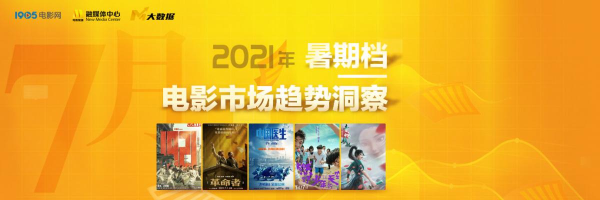 2021年暑期档电影市场趋势洞察——7月篇
