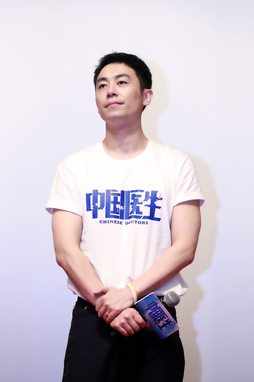 《中国医生》武汉首映 张涵予袁泉朱亚文致敬英雄