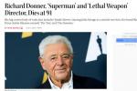 好莱坞传奇导演理查德·唐纳去世 曾执导《超人》