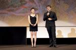 黄米依现身《永安镇故事集》戛纳首映 与观众交流